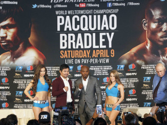 Pacquiao vs Bradley Press Conference