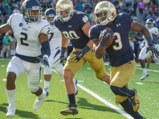 NCAA Football: Nevada at Notre Dame