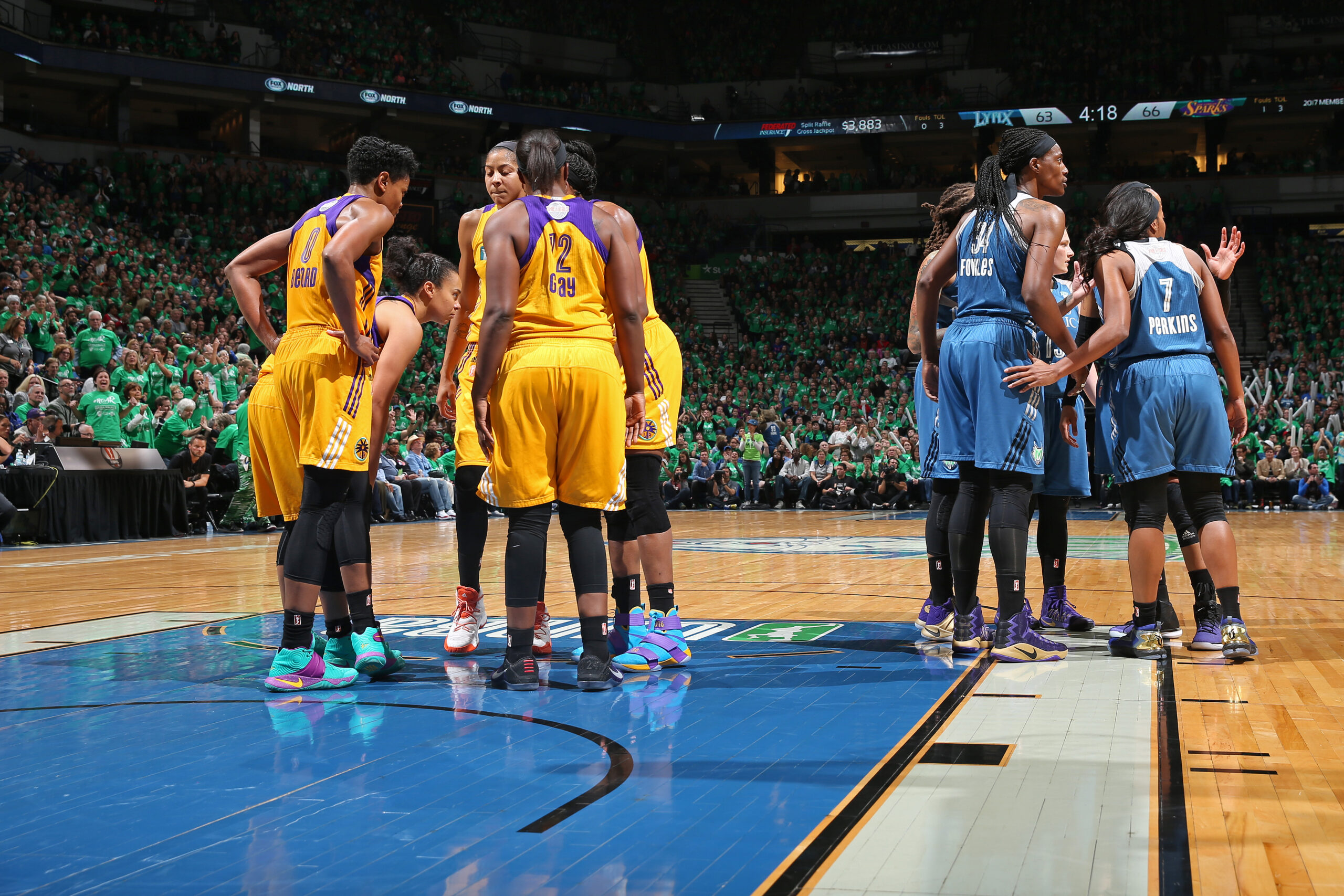 LA Sparks: WNBAs New Bully - Nuts and Bolts Sports