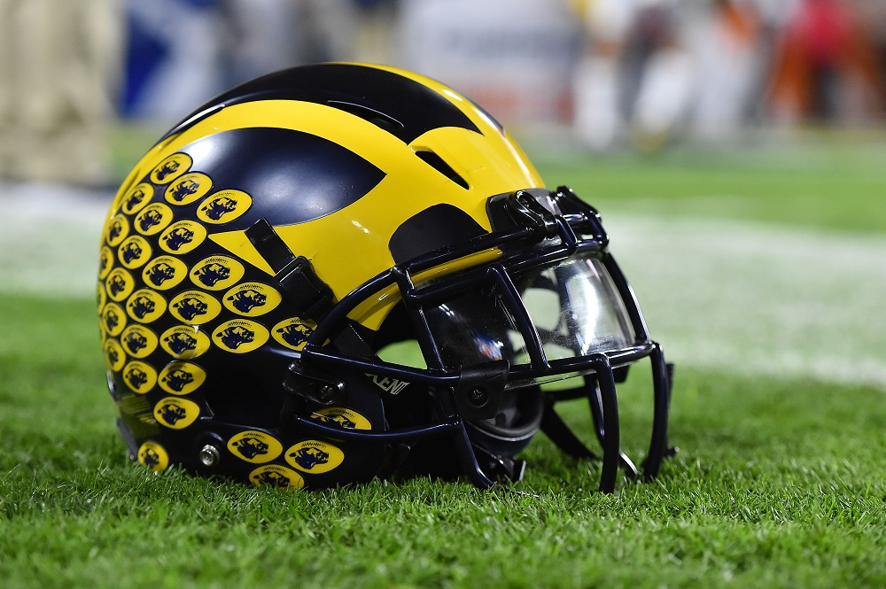 pretty nice 6362e de772 Michigan Wolverines Football 2018 - Nuts and Bolts Sports