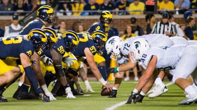 Week 8 Michigan vs. Michigan State