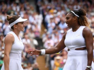 Serena Williams graciously accepts defeat at Wimbledon