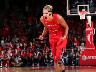 Elena Delle Donne prepares for the 2019 WNBA Finals