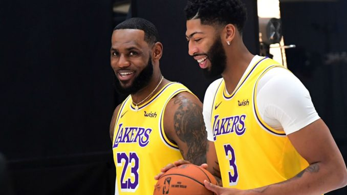 LeBron and AD lead the Lakers in the NBA 2020s