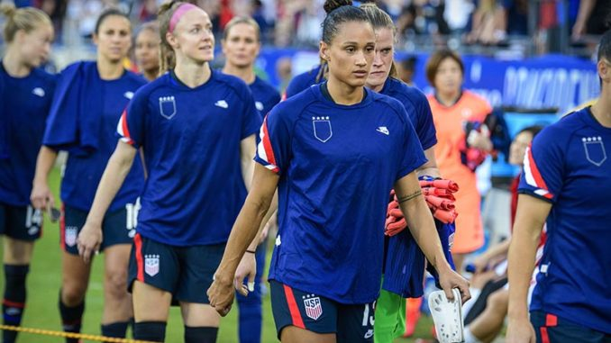 USWNT fights for equal pay