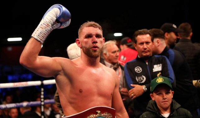 Billy Joe Saunders is wrong